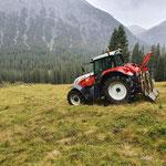 Forstaufräumarbeiten Zugertal, mit Steyr 6190 und 6240 CVT