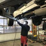Bremsen reparieren VW Pritsche lang