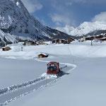 Snow Rabbit 3, Winterwanderwege Zug