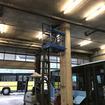 Wasserleitungsreparatur für Kärcher Waschanlage in den Postautogaragen