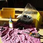 Vorbereitungen für Betrieb der Lawinenorgeln