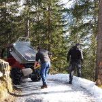 Burgwaldweg splitten