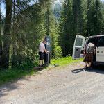 Waldbad Parkautomaten stellen