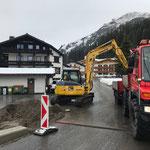 Schneeabkippplatz vorbereiten