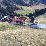 Wegebau Bürstegg, Fertigstellung
