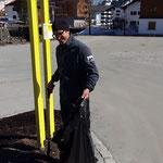 Müllzwicken rund um den Schlosskopfparkplatz