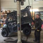 Polaris Ranger -  Reifenwechsel