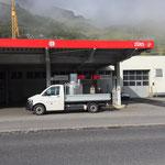 Normalbenzin tanken für Bauhof-Tankstelle