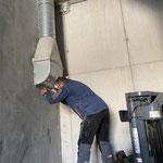 Lüftungsrohr reparieren Splittbox