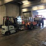 Stimmungsbeleuchtung neu aufladen für Auslieferung und Montage