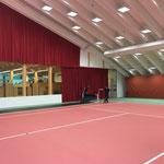 Umbau sport.park für Fahrzeugweihe Feuerwehr Lech