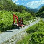 Radweg Stierloch-Spullersee Sanierung