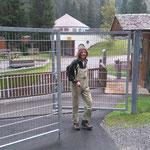 Waldbad Lech, Elmar beendet die Lecher Badesaison und sein Dienstverhältnis! Vielen Dank für deinen Einsatz und bis nächstes Jahr!
