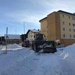 Schneeräumung Eisplatz Zürs...