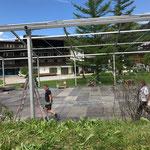 ACCR Zeltaufbau