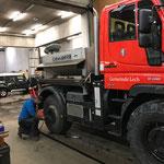 """U400 Reifenwechsel für """"Standby"""" Winterdienst"""