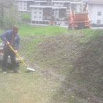 Ortsverschönerungsarbeiten in Stubenbach