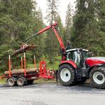 Brennholz holen, Abzweigung Spuller - Formarin