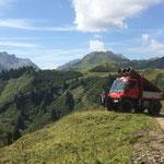 Rohrtransport Richtung Karbühel