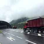 Klärschlammtransport nach Lustenau mit U530