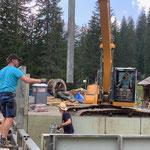 Projekt Zuger Säge, Baufortschritt