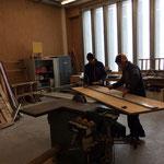 Regalbau in der Tischlerei