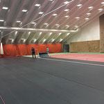 Umbau sport.park.lech für Trans Vorarlberg Triathlon