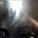 Tunnel Oberlech waschen