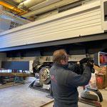 VW-Pritsche nach Versiegelung wieder fahrbereit machen