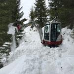 TB 216, Baggerarbeiten Sommerwanderweg Omesberg-Schwimmbad