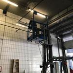 Waschhallentor neu justieren für Höhe Panoramabusse