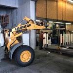 Geländerelemente für Loipe Omesberg fertig vorbereiten