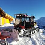 Pistenbully Paana Winterwanderwegpräparierung Oberlech, Grubenalpe
