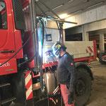 Bohrhammervorrichtung für U400 konstruieren