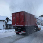 Schneedepot holen Tannberg mit U530
