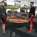 Zeltinventar für ACCR transportieren