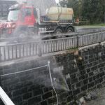 Tagwasserkanäle spülen Tannberg, mit U530
