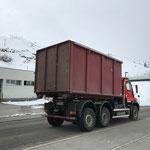 U530 auf der Heimfahrt, Klärschlammtransport nach Lustenau