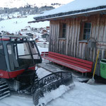 """Der """"Paana"""" im Winterwanderwegeinsatz Richtung Stubenbach"""