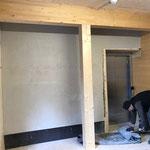 Baufortschritt Schopf Feuerwehrhaus