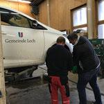 Winterreifenwechsel Gde-E-Fahrzeug