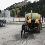 Kanalwäsche Angerauffahrt mit U400