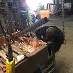 Brückenbau für Zufahrt Lift neu Feuerwehrhaus