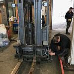 Kettenmontage Stapler