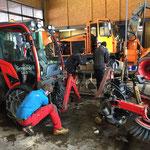 Holder C70 SC, Kehrmaschinenaufbau vorbereiten
