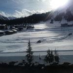 Winterwanderwegpflege mit E-Skidoo am Omesberg