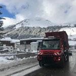 Unimog 530 Klärschlammtransport nach Lustenau