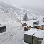 Lader 509, Schneeräumung am Bauhof