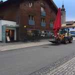 Schirmtransport mit Lader 509