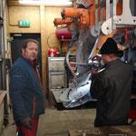 Streuteller einstellen und Fahrzeugpflege beim Lindner Unitrac